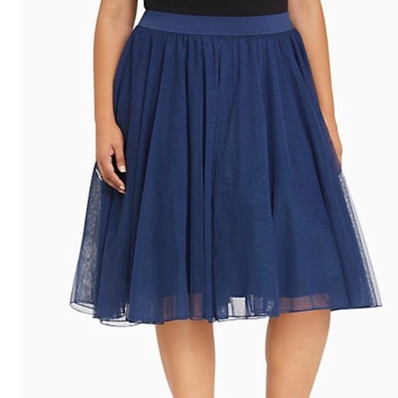 cbe63947fb torrid Skirts   Tulle Midi Skirt In Navy   Poshmark